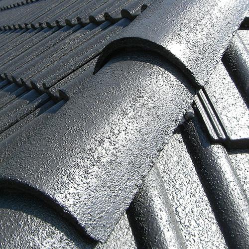 Dachbeschichtung Nachher